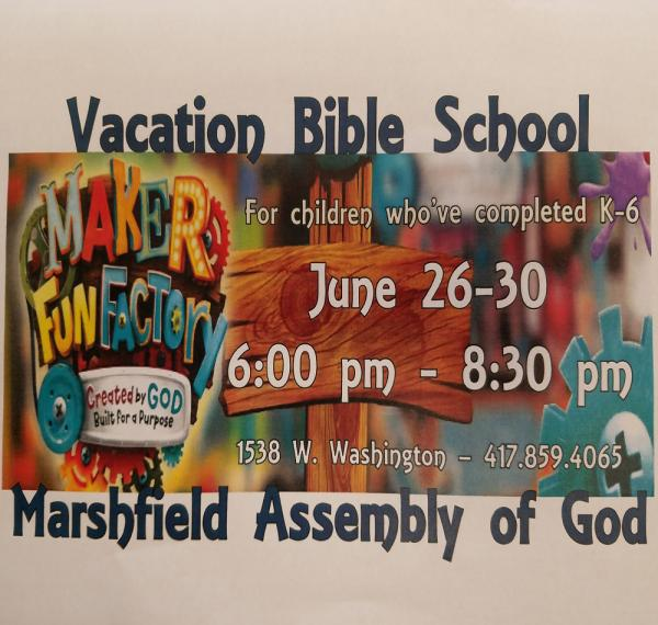 Vacation Bible School @ M A G