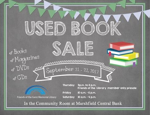 Used Book Sale!