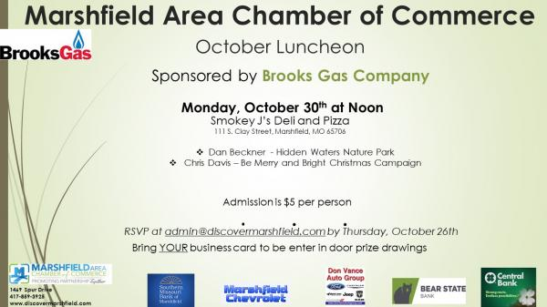 October Luncheon
