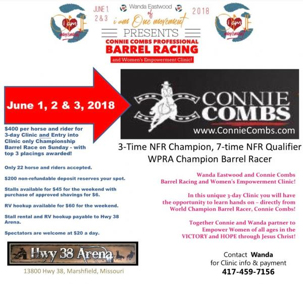 Barrel Racing and Women's Empowerment Clinic