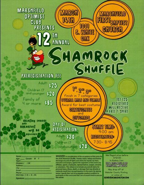 12th Annual Shamrock Shuffle
