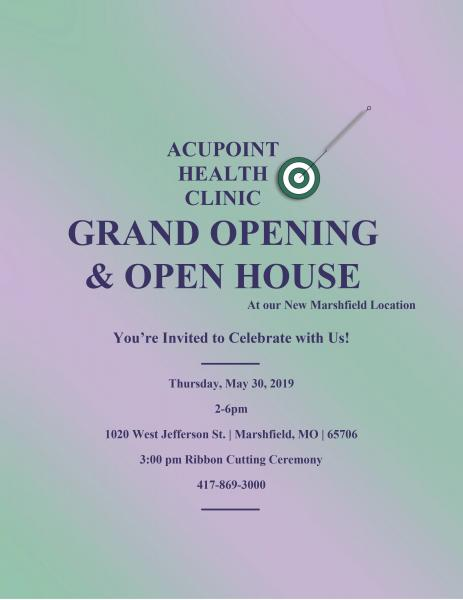 AcuPoint Health Clinic Grand Opening