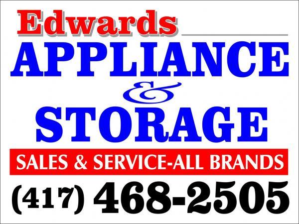 Edwards Appliance Sales/Service and Storage
