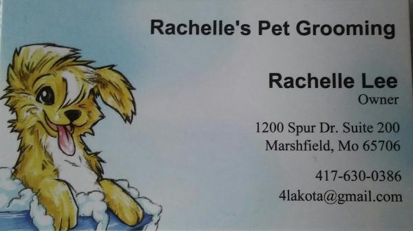 Rachelle's Pet Grooming